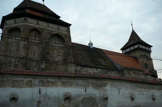 Valea Viilor ; village saxon et église fortifiée de Transylvanie 7