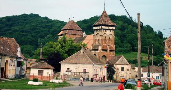 Valea Viilor ; village saxon et église fortifiée de Transylvanie 1