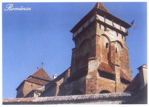 Valea Viilor ; village saxon et église fortifiée de Transylvanie 2