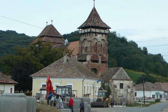 Valea Viilor ; village saxon et église fortifiée de Transylvanie 6