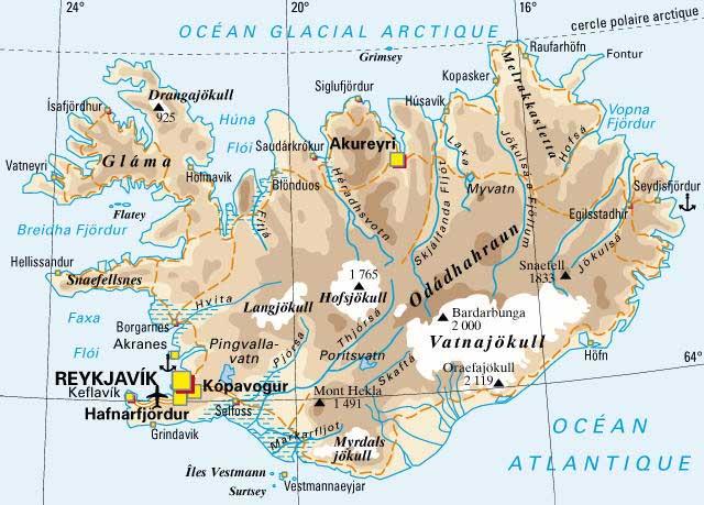 Le Cercle d'Or ; magnifique nature au pays des geysers (Tourisme Islande) 2
