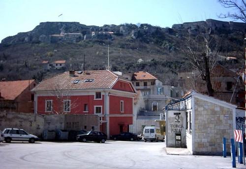 forteresse de Knin citadelle Gornij Kastel