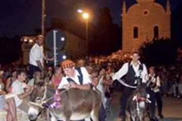 Course d'ânes traditionnelle de Tribunj (Dalmatie Centrale)