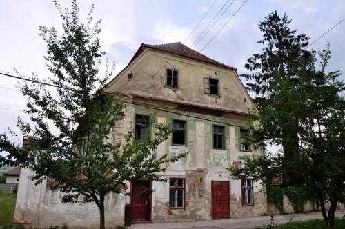 Nochrich (Leschkirch) ; village saxon et église fortifiée de Transylvanie 7