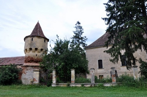 Nochrich (Leschkirch) ; village saxon et église fortifiée de Transylvanie 6