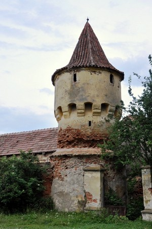 Nochrich (Leschkirch) ; village saxon et église fortifiée de Transylvanie 4