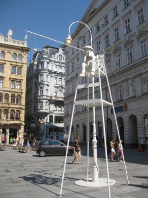 Wien Tagedieb : une étrange colonne de la Peste sur l'avenue Graben 3