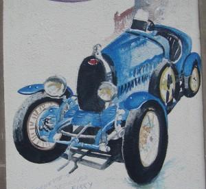 Festival Bugatti des anciennes voitures à Molsheim en Alsace 2