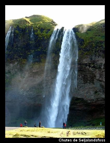 chutes de Seljalandsfoss