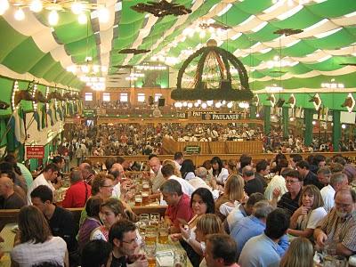 Oktoberfest tentes