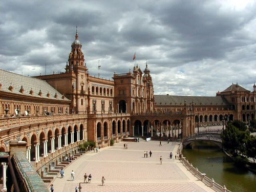 seville sevilla plaza d'españa place d'Espagne