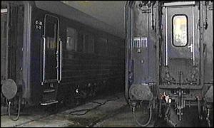 train bleu tito serbie
