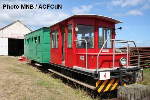 Le Train des Cotes du Nord revit grâce à l'Association des Chemins de Fer des Côtes-du-Nord 1