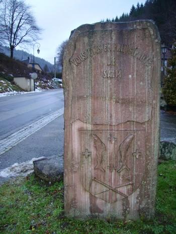 Salm Salm ; ancienne principauté dans les Vosges (Tourisme Lorraine) 2