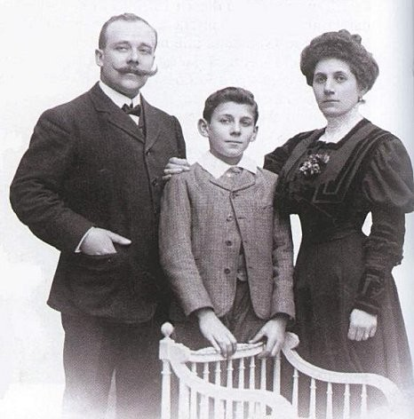 louis ferdinand celine et ses parents
