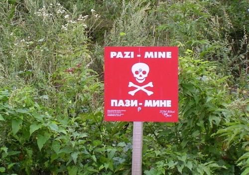 mines antipersonnels croatie
