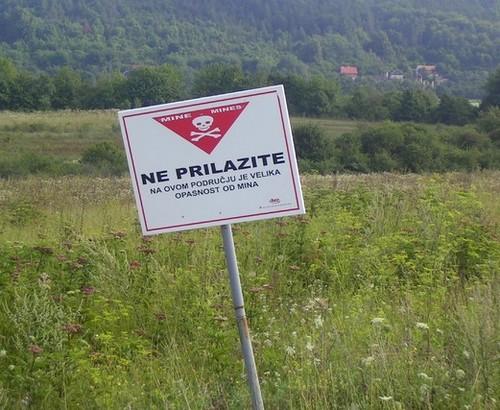 mines croatie