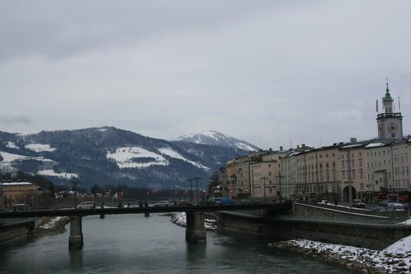 pont de salzbourg sur la salzbach