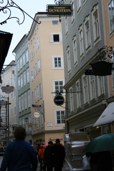 salzbourg schuhhaus denkstein