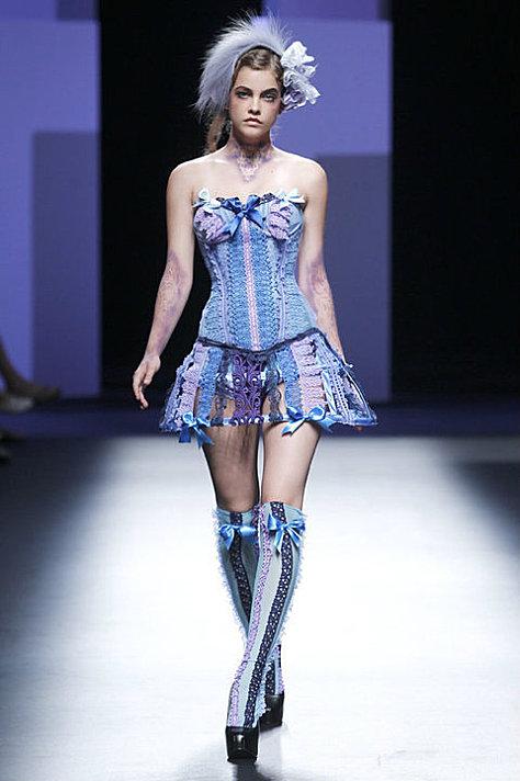 bibian blue fashion week