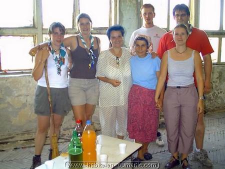 L'aventure humanitaire : Les routiers de Soignies à Gheraseni 1