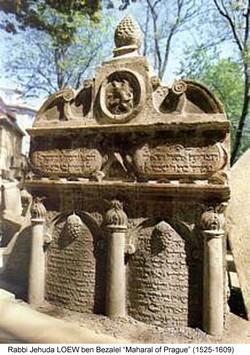 tombe maharal rabbi loew prague
