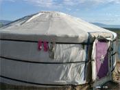 yourte mongolie désert de gobi