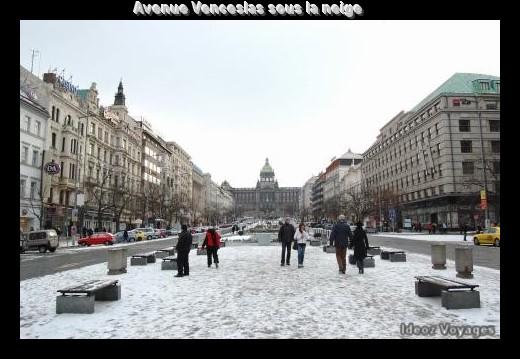 Place Venceslas Václavské náměstí à Novo Mesto (Visiter Prague) 3