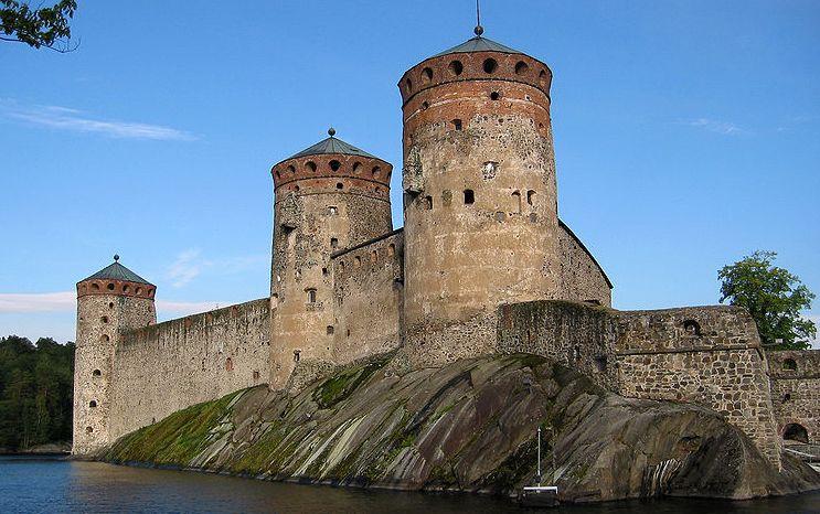 chateau savonlinna finlande