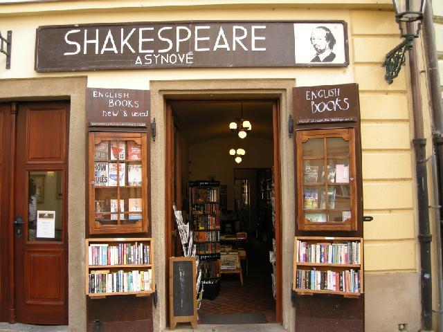 Librairie à Prague