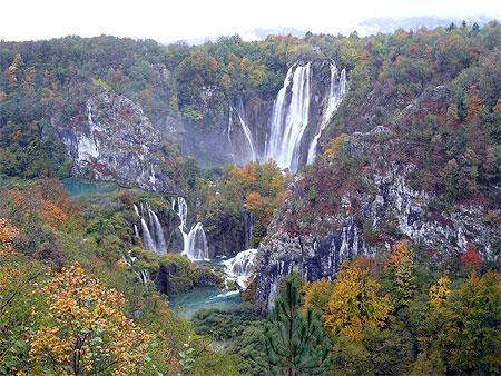 parc national plitvice croatie