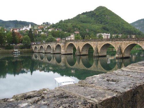 Pont Mehmed Pacha Sokolović à Višegrad en Bosnie Herzégovine