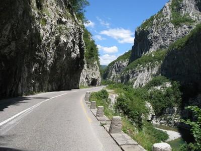 route canyon moraca