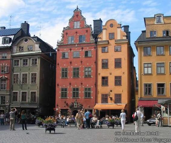 Gamla Stan Stockholm Suède