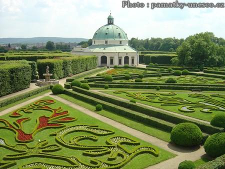 Chateau jardins de Kromeriz