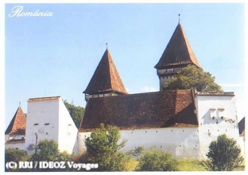 Dealu Frumos, église fortifiée et village saxon de Transylvanie