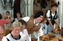 Gasthof Krone Füssen: bon restaurant médiéval à Fuessen (Neuschwanstein) 2