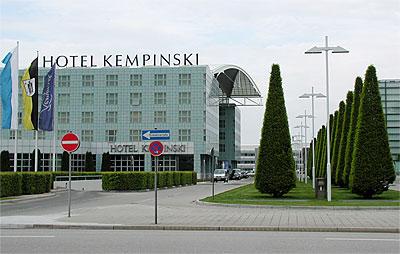 Hotel Munich Kempinski airport