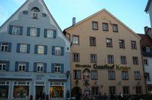 Gasthof Krone Füssen: bon restaurant médiéval à Fuessen (Neuschwanstein) 16