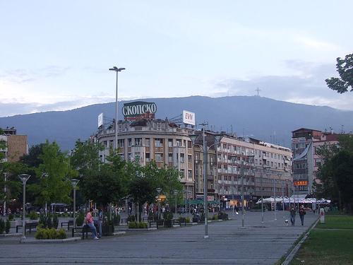 Skopje place principale
