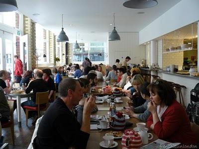 Restaurant Londres - Albion cafe, des spécialités anglaises typiques 1