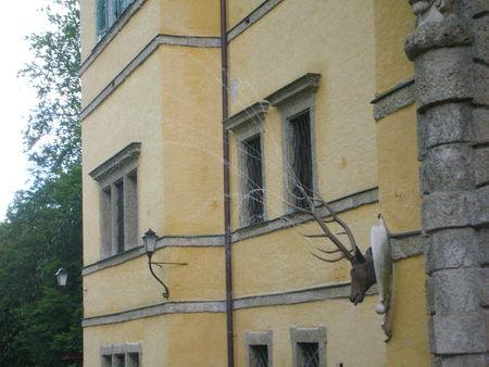 chateau hellbrunn (salzbourg) tête de cerf