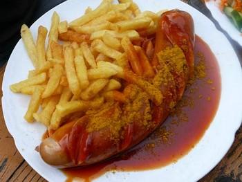 fruhlingfest fruehlingfest munich currywurst