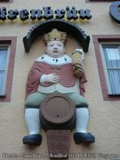 Facade gasthor Krone (Fussen, Bavière)