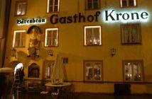 Gasthof Krone Füssen: bon restaurant médiéval à Fuessen (Neuschwanstein) 15