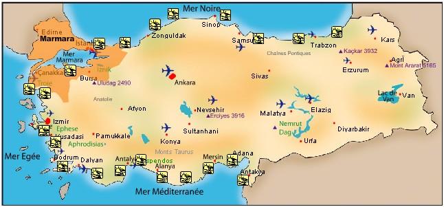 Plage en turquie les plus belles plages de turquie - Ville bord de mer mediterranee ...