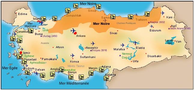 Les Plus Belles Villes Turques