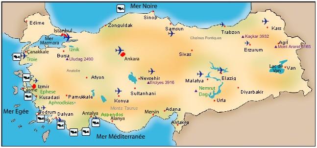 Où faire de la plongée en Turquie? 2