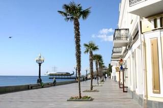 Ufer promenade Yalta Jalta