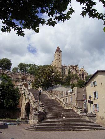Auch (Gers) Escalier monumental